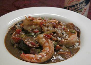 Southern food blog gumbo not only tastes good but it can also reveal a vast amount of historical information as well by analyzing the different ingredients within gumbo forumfinder Images